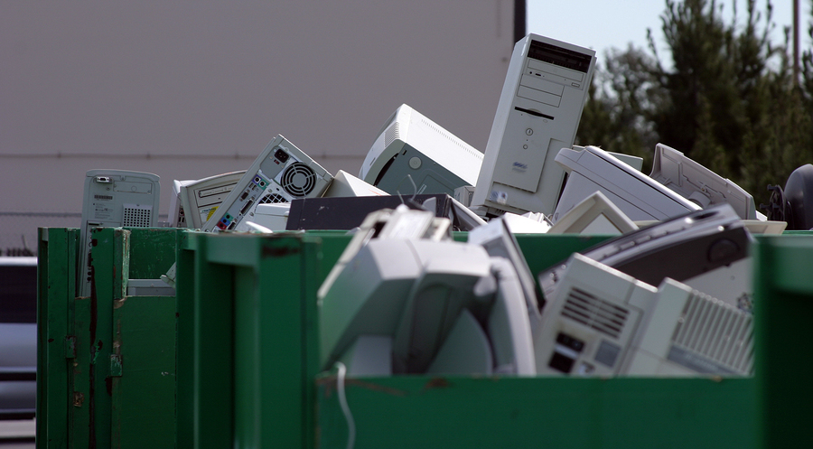 You can handle e-waste sustainably by upgrading or repairing, selling, donating or recycling it.